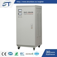 Good Price Electrical Equipment Power Supplies 10Kva Svc Single-Phase High Accuracy Ac Voltage Stabilizer