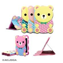 Kube bear shape cartoon case for tablet pc