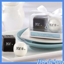 Wholesale creative wedding gift Wedding Favor Wedding / raffle small prizes Miss Mr. spice jar gift MHo-125