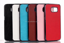 For Samsung Galaxy S6 G9200 Crazy Horse Lagging PU Leather Back Cover