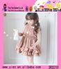 Cute HandMade Baby Girl Dress Soft Chiffon Hand Made Baby Girl Dress