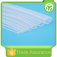 Soft transparent thin silicone tube