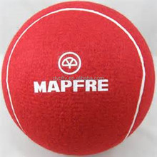 """9.5"""" red inflatable tennis ball manufacture"""