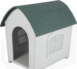 Plastic Cottage Dog Kennel pet cage