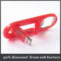 30% discount beer opener usb flash memory 64GB