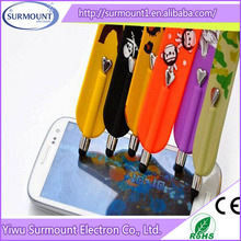 Colorful very popular silicone slap bracelet pen for touch screen computer/mobile