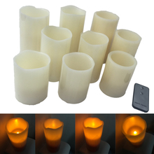 FANSIDI New Arrivals Real Wax LED Candle Light With Good Smell