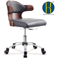 2014 modern best seller plywood office staff task chair with good quality