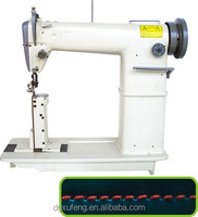 industrial post bed leather sewing machine