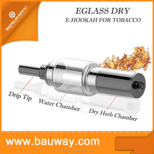 Water Filtering System Pure Taste Ecig Wickless Atomizer Glass Water Pipe Ego Dry Herb Atomizer