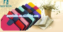 Newest wallet PU double color phone case for Samsung N3