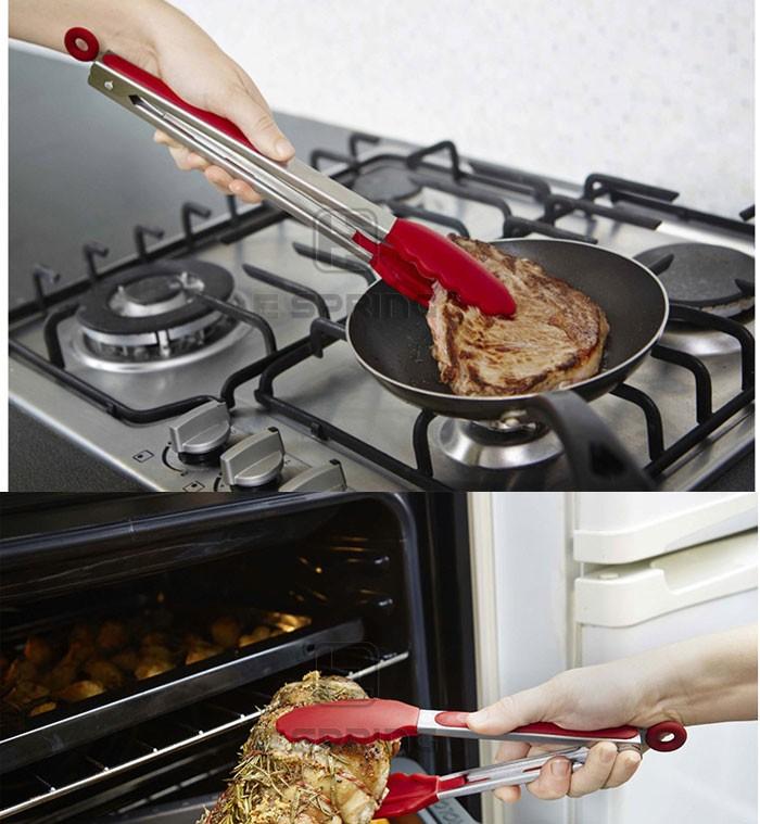 요리 주방 집게 프리미엄 품질의 바베큐 집게 실리콘 집게-기구 ...
