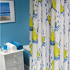 High quality polyester kids cartoon curtains 100% polyester curtain waterproof polyester fabric curtains showers