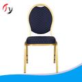 Uso doméstico barato de aluminio apilable sillas