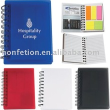 2012 coloful spiral ring notebook printing