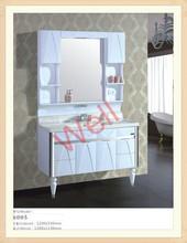 New arrival perfect vanity PVC bathroom vanity sales 6005