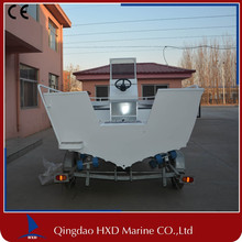 top aluminum patrol boat CE approved made in china