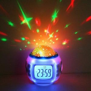 China por mayor sueño cielo nocturno estrella proyector Rolex reloj de pared de la máquina para el regalo navidad