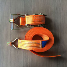 8T x 10M polyester ratchet webbing strap for pallet strapping