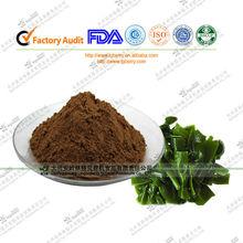 Los fabricantes de extractos de algas marinas fucoidan/wakame extracto de algas pardas