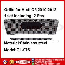 KCOMFORT Steel car auto parts and accessory front car grille for audi q5 front grille 2010-2012
