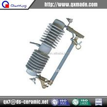 33kV isolator Porcelain dropout electric cutout fuse insulator