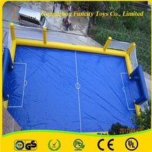 Giant inflatable football field,soap football field,inflatable football game for sale