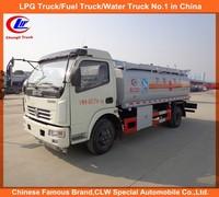 5000 liter refueller truck, 5cbm fuel tank,mobile 5000L diesel refuelling tanker truck