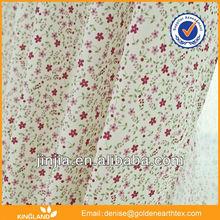MT 4624 air curtain fabric flocking organza polyester fabric window curtain