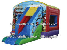 Bounce Slide Inflatable Pirates Slide
