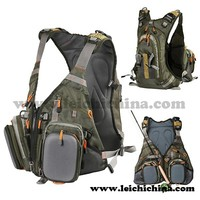 High quality Vest fly fishing backpack