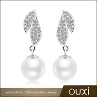 OUXI nickel free fashion austrian crystal earrings jewelry walmart