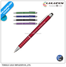IWrite Chic Aluminum Pen With Touch Screen Stylus (Lu-Q62125)