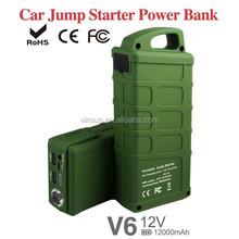 Snap on Car Emergency Tool Kit 12v 21000mah Mini Multi-function Jump Starter for 12v Car