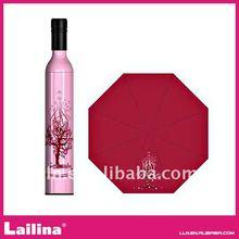 2012 fashion bottle Umbrellas.Folding umbrella slim design