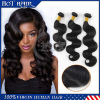 3 pieces/set wholesale 18'' brazilian body wave hair weave
