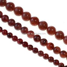 Wholesale Strawberry Quartz Semi-precious Gemstone Beads for Jewel Making