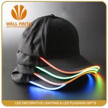 China wholesale led light cap for party, LED FLASH HAT