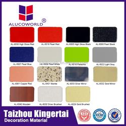 Alucoworld professional timber wall paneling/exterior wall cladding boat interior wall material