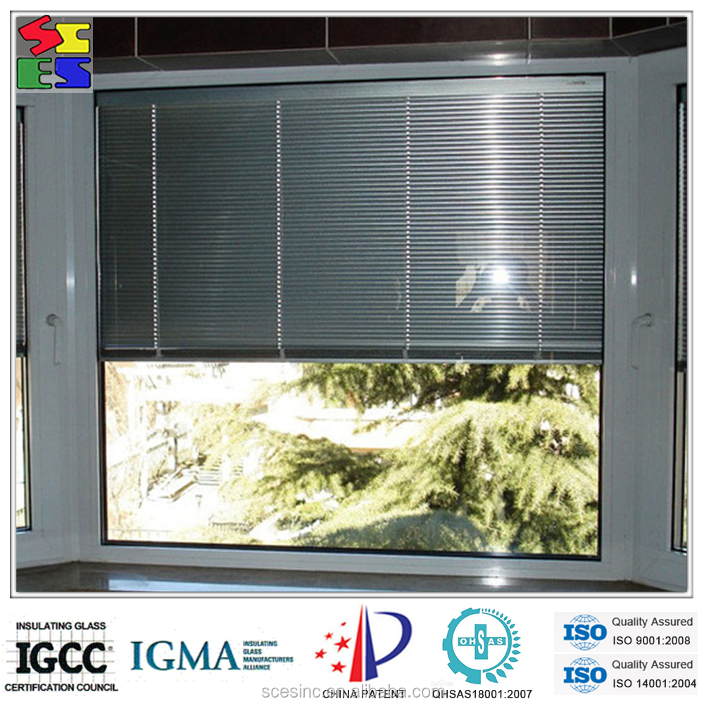 2015 hot sale hot sale motorized windows with built in for Windows with built in shades