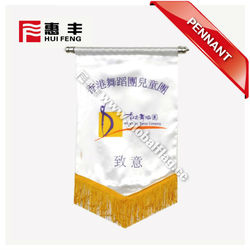 advertising soccer pennant wholesale for promotion