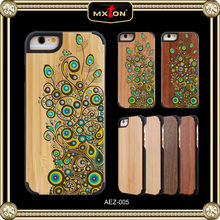 Custom Printed Set Drill Bamboo Made For Mickey Mouse For Iphone Case 5