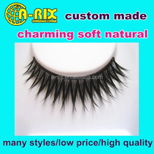 beautiful tip mellow custom made strip false eye lashes