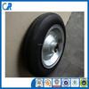 Qingdao manufacturer heavy duty wheelbarrow wheels 14x4 inch solid wheel