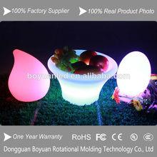 Decorativo de color de plástico macetas de plantas/biodegradables de plástico macetas para las plantas