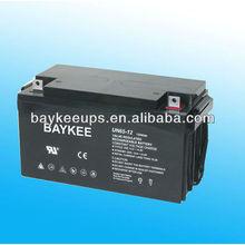 12V 65Ah Maintain Free Ups Battery/batteries for ups 12v 80ah