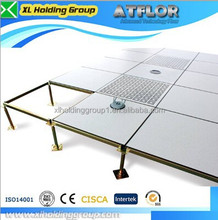 anti-static adjustable raised floor support system with anti-static PVC/HPL tile