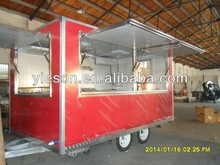 China mobile food trailer/China mobile ice cream food/China mobile food cart