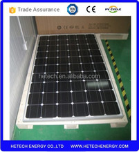 New energy 260w monocrystalline pv solar panel price
