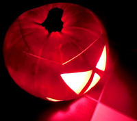 Total NEW!!! Magical Remote Controlled LED Pumpkin Light For Halloween Decoration